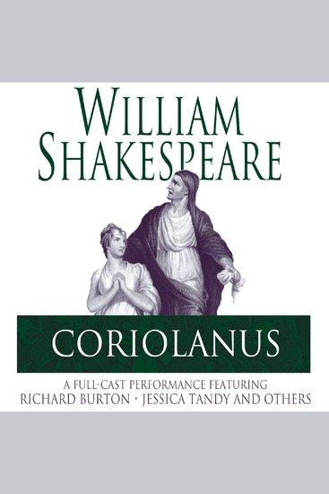 Coriolanus - cover