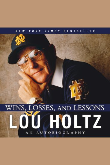 Wins Losses and Lessons - cover