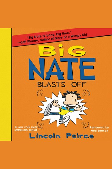 Big Nate Blasts Off - cover