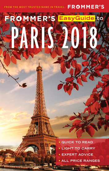 Frommer's EasyGuide to Paris 2018 - cover
