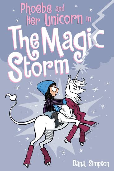 Phoebe and Her Unicorn in the Magic Storm (Phoebe and Her Unicorn Series Book 6) - cover