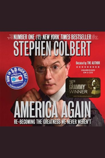 America Again - Re-becoming the Greatness We Never Weren't - cover
