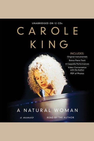 Natural Woman A - A Memoir - cover