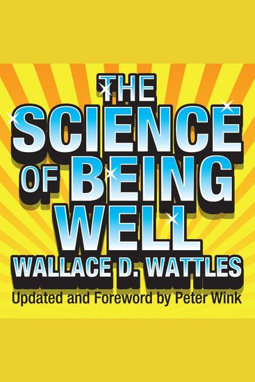 The Science of Being Well - cover