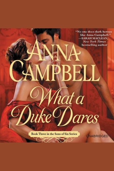 What a Duke Dares - cover