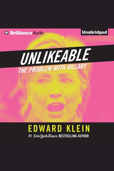 Unlikeable - The Problem with Hillary - cover