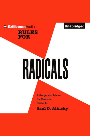 Rules for Radicals - A Practical Primer for Realistic Radicals - cover