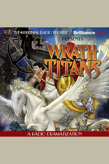 Wrath of the Titans - A Radio Dramatization - cover