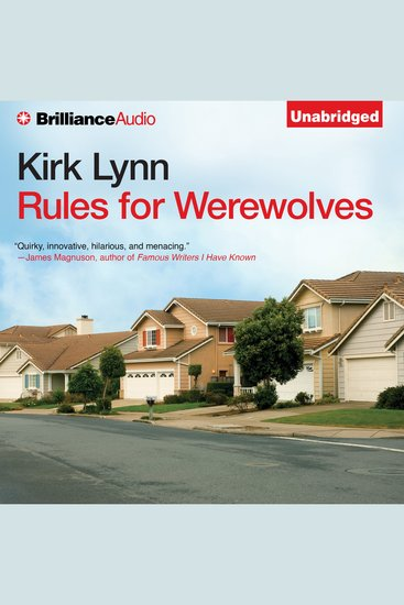 Rules for Werewolves - cover