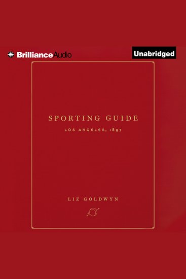 Sporting Guide - Los Angeles 1897 - cover
