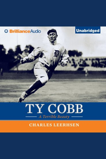 Ty Cobb - A Terrible Beauty - cover