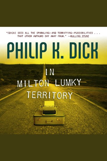 In Milton Lumky Territory - cover