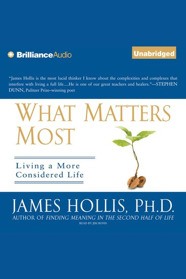 What Matters Most - Living a More Considered Life - cover