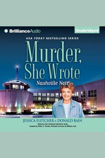Murder She Wrote: Nashville Noir - cover