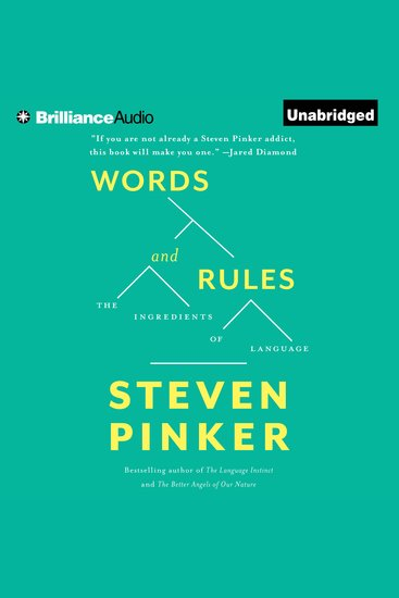 Words and Rules - The Ingredients Of Language - cover