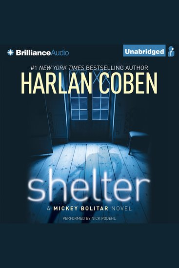 Shelter - A Mickey Bolitar Novel - cover
