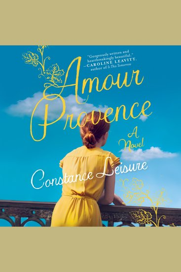 Amour Provence - A Novel - cover