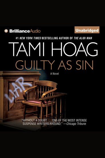 Guilty as Sin - cover