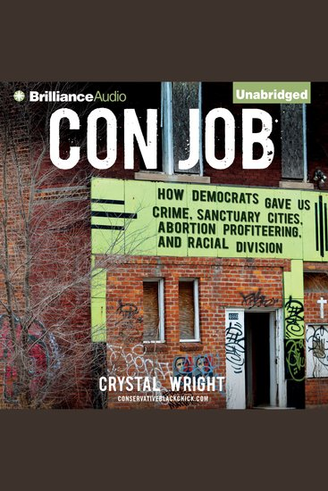 Con Job - How Democrats Gave Us Crime Sanctuary Cities Abortion Profiteering and Racial Division - cover