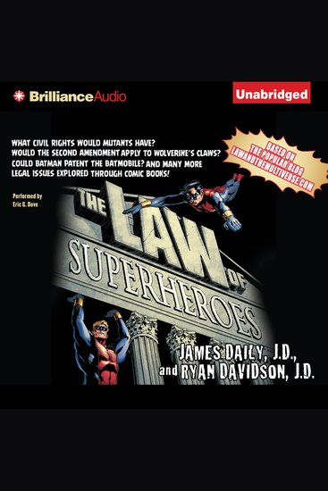 The Law of Superheroes - cover