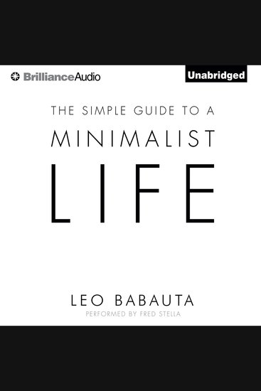 The Simple Guide to a Minimalist Life - cover