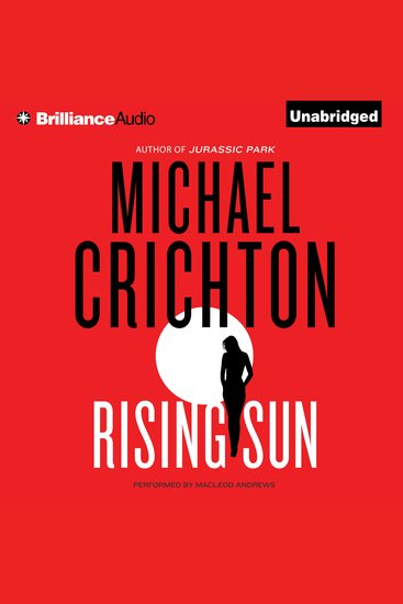 Rising Sun - A Novel - cover