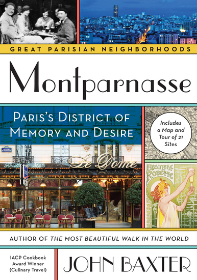 Montparnasse - Paris's District of Memory and Desire - cover