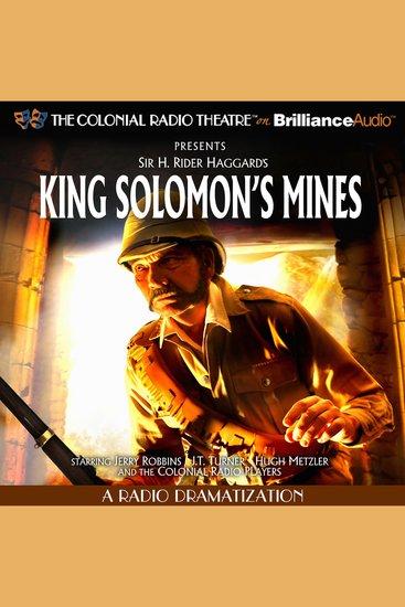 King Solomon's Mines - A Radio Dramatization - cover