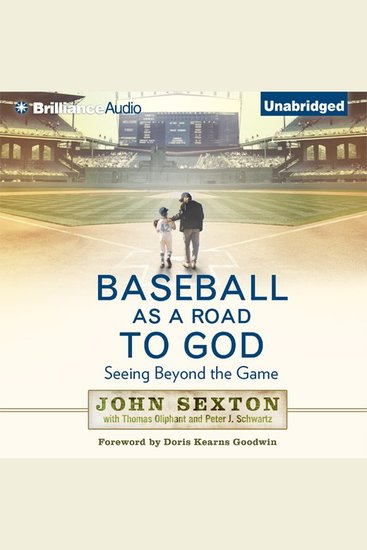 Baseball as a Road to God - Seeing Beyond the Game - cover