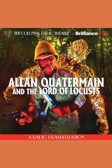 Allan Quatermain - And the Lord of Locusts - cover