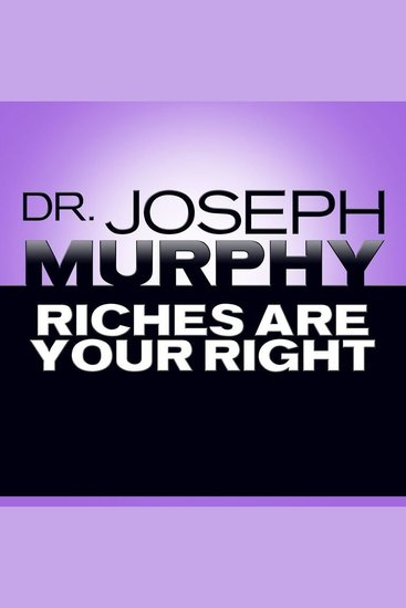 Riches Are Your Right - cover