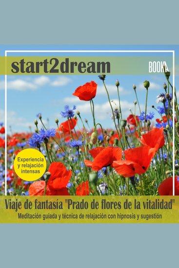 """Meditación Guiada """"Prado de Flores de la Vitalidad"""" - cover"""