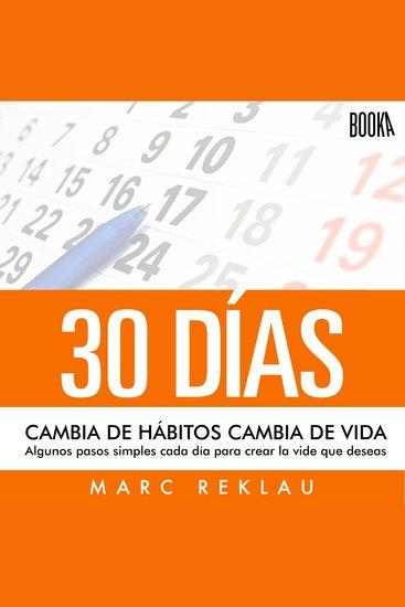 30 Días - Cambia de hábitos Cambia de vida - cover