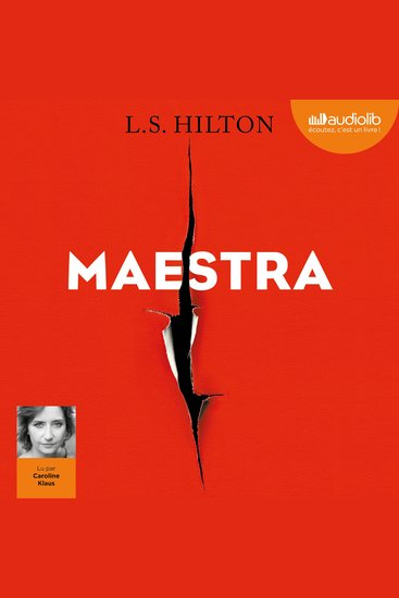 Maestra - Livre audio 1 CD MP3 - cover