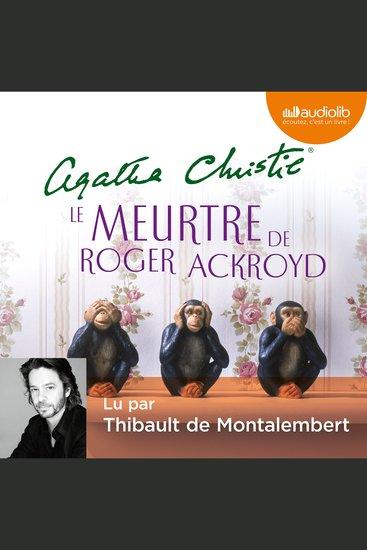 Le Meurtre de Roger Ackroyd - cover