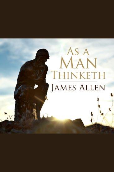 As a Man Thinkith - cover