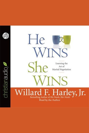 He Wins She Wins - Learning the Art of Marital Negotiation - cover