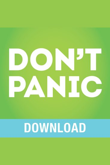 Don't Panic! - Living Worry Free Every Day - cover
