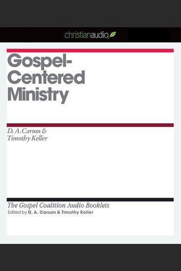 Gospel-Centered Ministry - cover