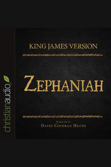 King James Version: Zephaniah - Holy Bible in Audio - cover
