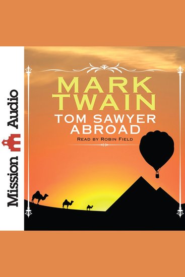 Tom Sawyer Abroad - cover