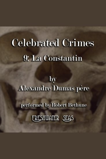 La Constantin - Celebrated Crimes book 9 - cover