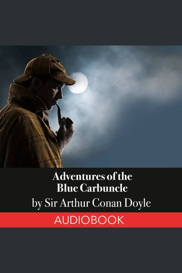 Sherlock Holmes: Adventures of the Blue Carbuncle - cover