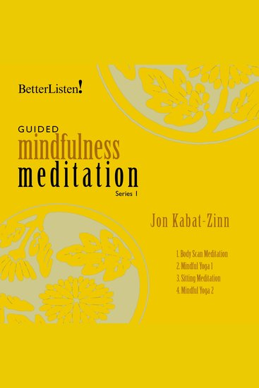 Guided Mindfulness Meditation Series 1 - cover