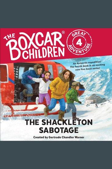 The Shackleton Sabotage - cover