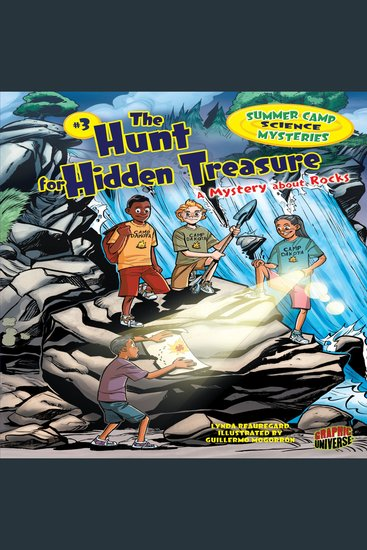 The Hunt for Hidden Treasure - A Mystery about Rocks - cover
