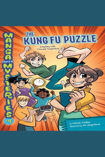 The Kung Fu Puzzle - A Mystery with Time and Temperature - cover