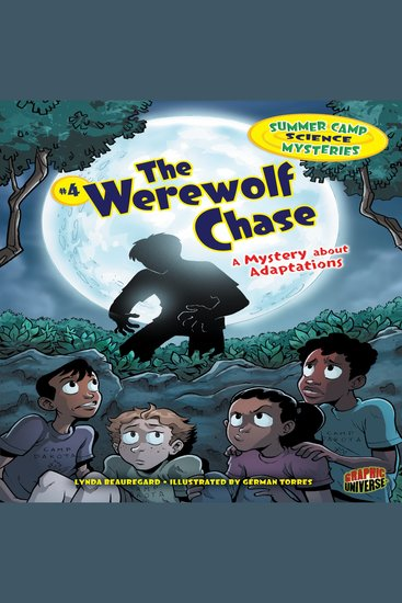 The Werewolf Chase - A Mystery about Adaptations - cover