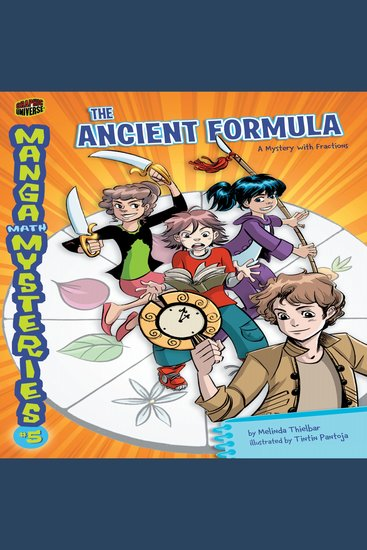 The Ancient Formula - A Mystery with Fractions - cover