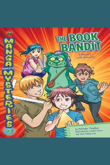 The Book Bandit - A Mystery with Geometry - cover